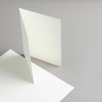 Karten Elfenbein A5 hochdoppelt 250 g/m²