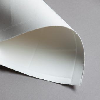 Cartes de visite de papier fait main (à la cuve) 54 x 85 mm