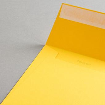 Colorplan Hüllen 155x155 mm Curry