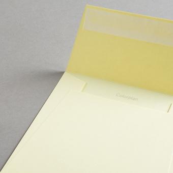 Colorplan Hüllen 155x155 mm Hellgelb
