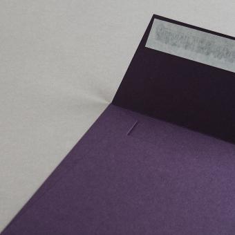 Colorplan Hüllen 155x155 mm Aubergine