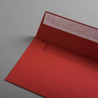 Colorplan Hüllen DIN lang Rot