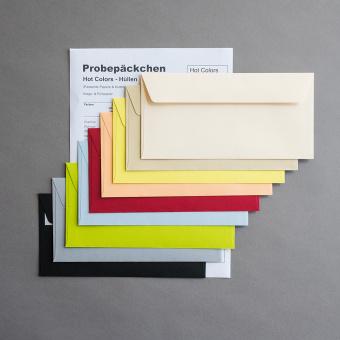 Hot Colors farbige Hüllen Probepäckchen
