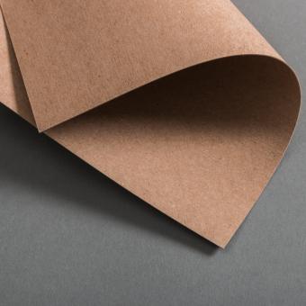 Kraftpapier Muskat Karten DIN B6 einfach 120 x 171 mm