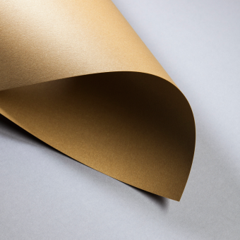Metallics gebürstet 300 g DIN A4 | Cognac | 300 g/m²