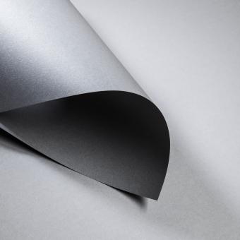 Metallics gebürstet 300 g DIN A4 | Shadow | 300 g/m²