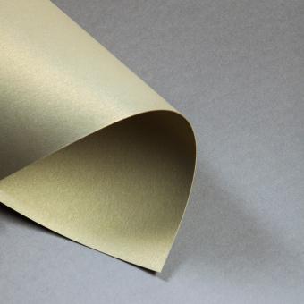 Metallics gebürstet 300 g DIN A4 | Gold | 300 g/m²