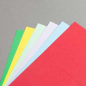 Cartes couleur A6 double haut