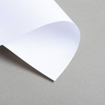 Karten Weiß DIN lang Einfach