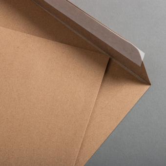 Kraftpapier Muskat Briefumschläge C4 haftklebend