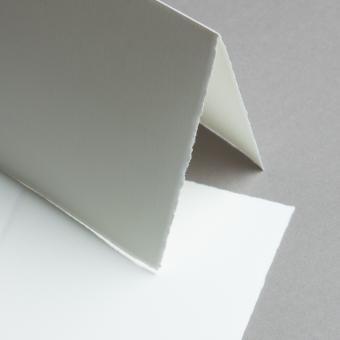 Echt Bütten Karten 158 x 158 mm doppelt