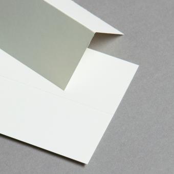 Cartes ivoire 70 x 140 mm