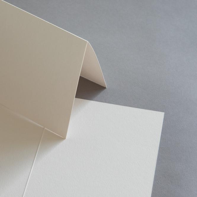 Colorplan Karten 169 x 120 mm hochdoppelt Sand