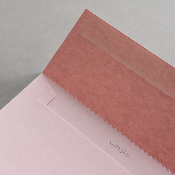 Colorplan Hüllen DIN C5 Rosa