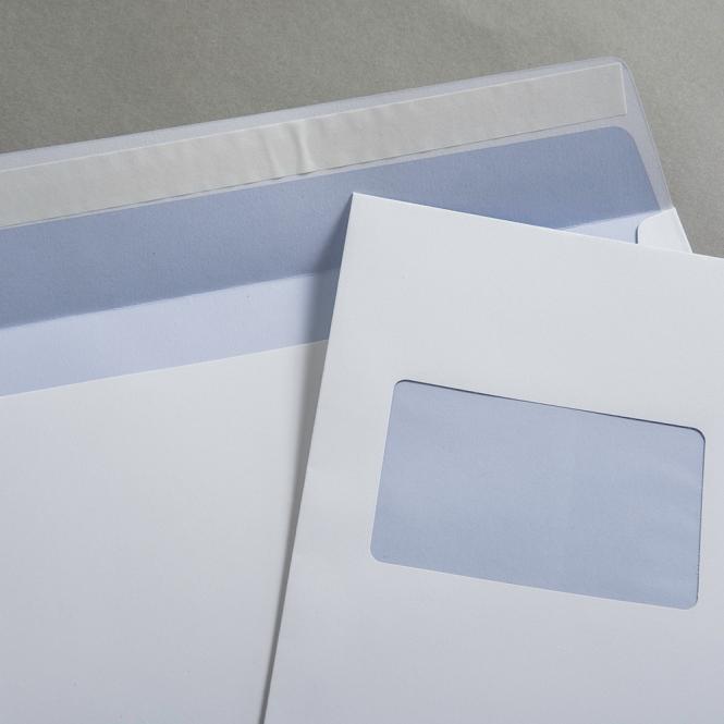 Jupp Hüllen weiß recycling DIN C4 mit Fenster