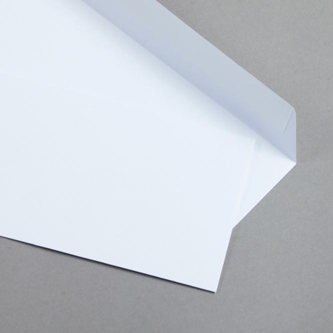 Enveloppes Crema Blanc lumineux   50 pièces