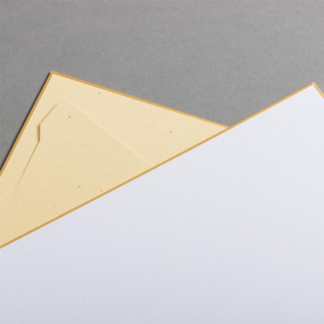 Schede Shikishi 273 x 242 mm - supporto integrato