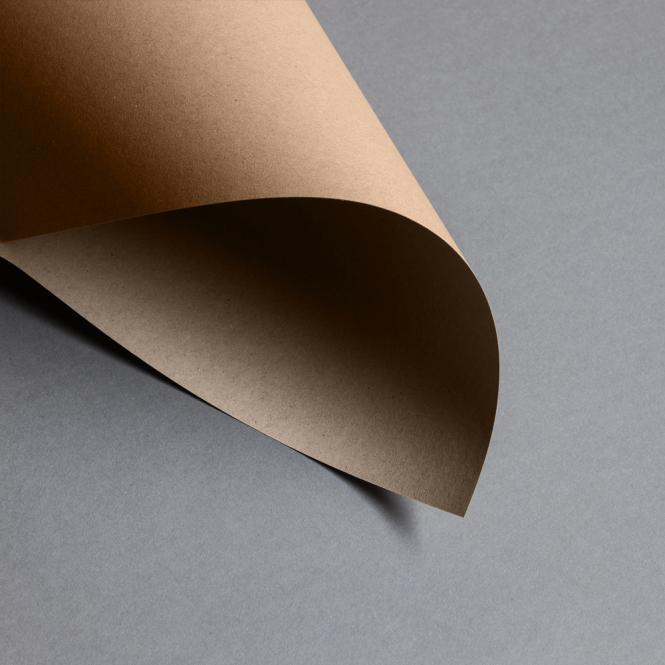Kraftpapier Muskat braun 100 g DIN A4
