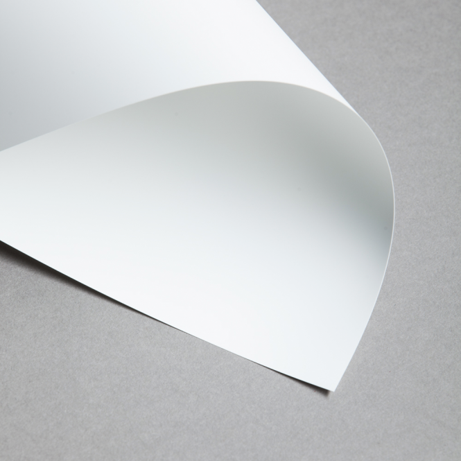 Signolit Polyesterfolie SC22 Weiß Opak DIN A4 | 10 Blatt