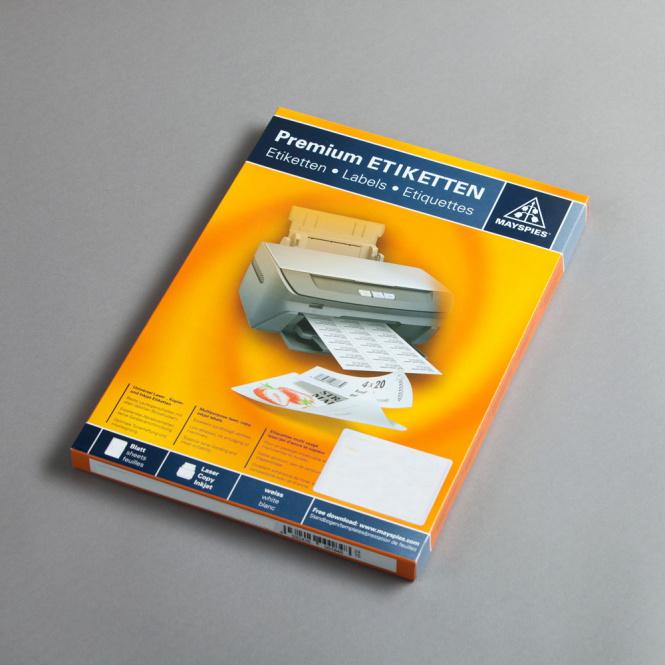 Weatherproof labels - 10 sheets