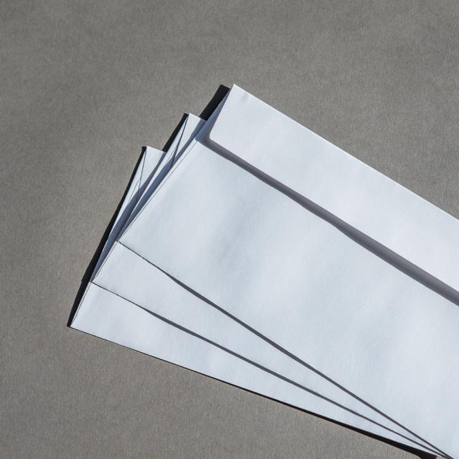 Briefhüllen Standard Weiß