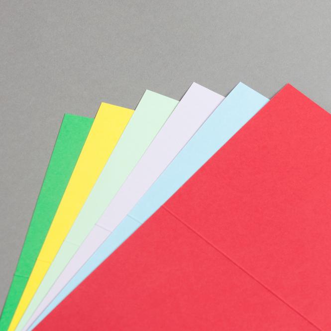 Karten Farbig A6 hochdoppelt