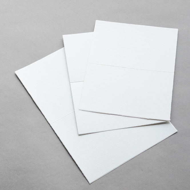 Vecchia carta doppi a mano olandese van Gelder Biglietti
