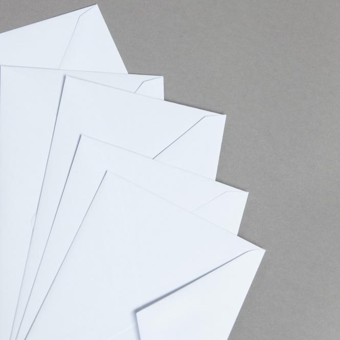 MAYSPIES Premium enveloppes avec doublure bande adhésive