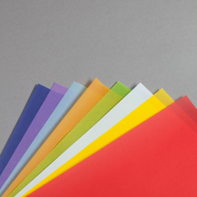 Transparent couleur A4