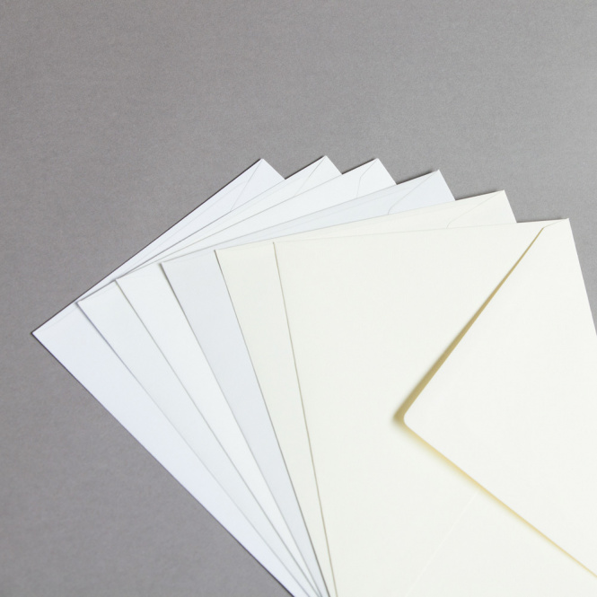 Enveloppes Revolution vergées DIN C5