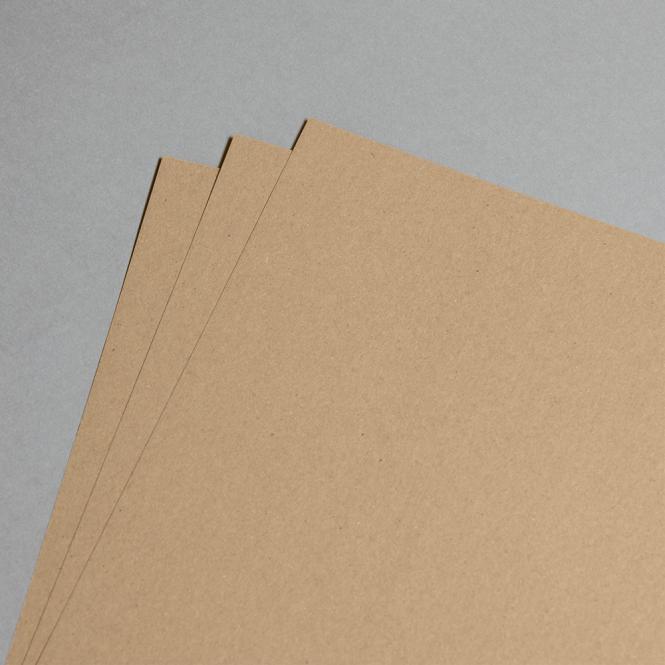 Kraftpapier Muskat braun 160 g