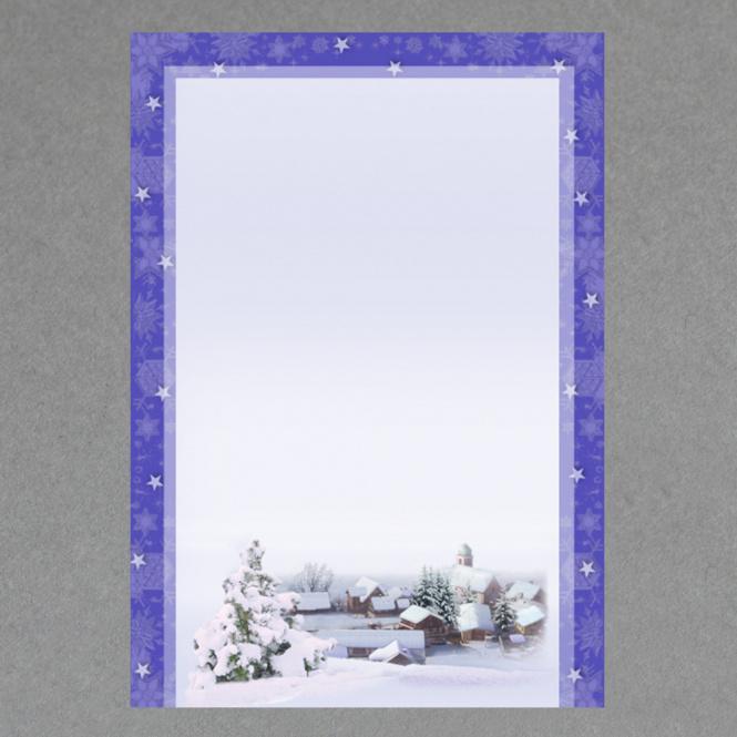 Schneedörfchen A4