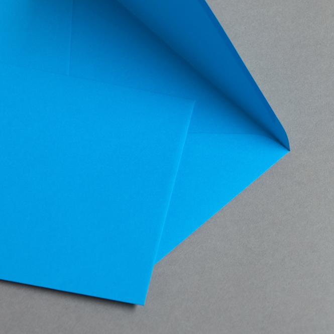Briefumschläge DIN B6 Karibischblau