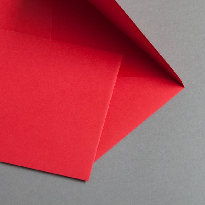 Briefumschläge DIN B6 Ziegelrot