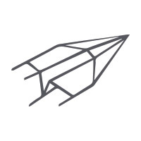 Cartes de papier fait main A6 double haut