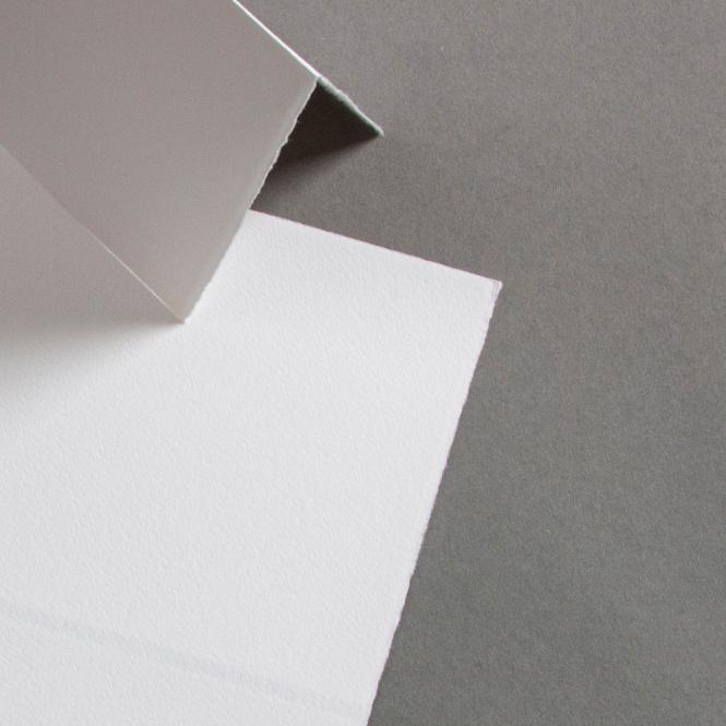 Büttenkarten hochdoppelt Chantilly 115 x 170 mm