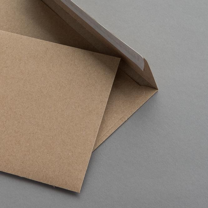 Muskat Kraftpapier Hüllen C6