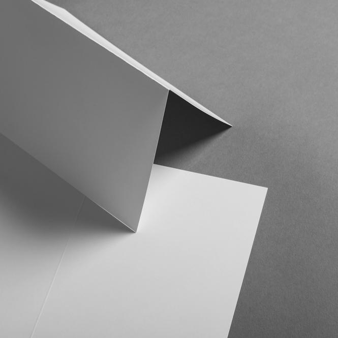 Karten Weiß DIN B6 hochdoppelt 120 x 171 mm