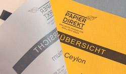Papierbuch & Probepäckchen strip_tags