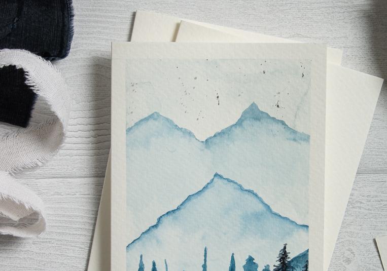 aquarellkarten