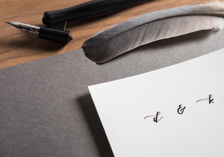 papier-kalligrafie
